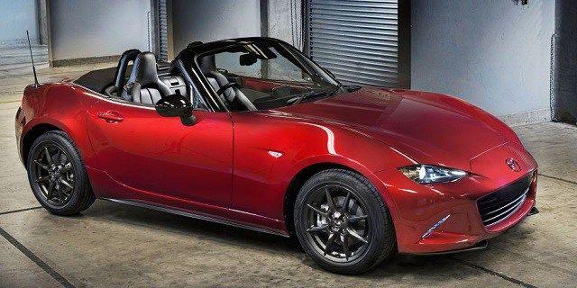 2018 Mazda Miata Turbo Cars Convertible Fiat Spider