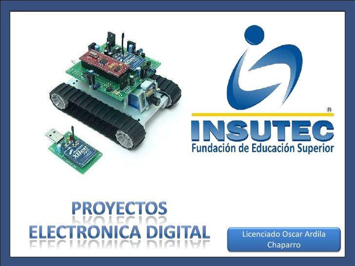 Proyectos electrónica digital