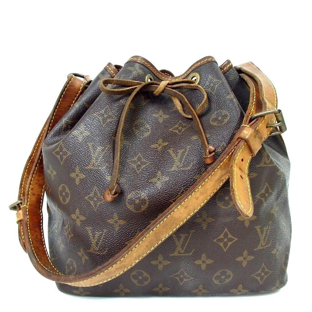 70c6f1591e06 US SELLER Auth LOUIS VUITTON Monogram Petit Noe Shoulder Bag ...