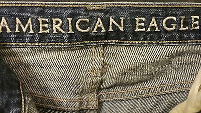 mens american eagle low rise boot cut jeans size 32 34