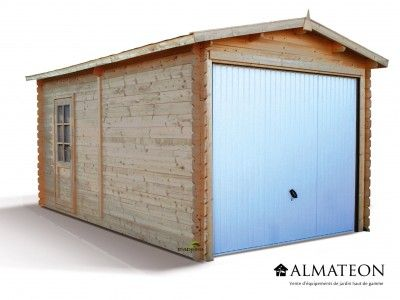 garage en sapin de 15 5 m mod le atlanta avec ses finitions haut de gamme le garage atlanta. Black Bedroom Furniture Sets. Home Design Ideas