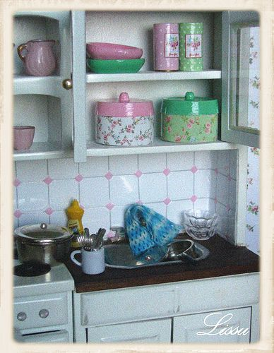 Shabby Chic Green Cottage | Flickr - Photo Sharing!