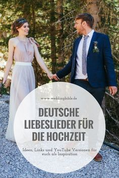 Hochzeitslieder für die Zeremonie oder besser gesagt deutsche Liebeslieder, die sich perfekt für eine Hochzeit eignen. Den richtigen Hochzeitssong für das Ja-Wort findet ihr im heutigen Blogpost vom Hochzeitsblog weddingbible