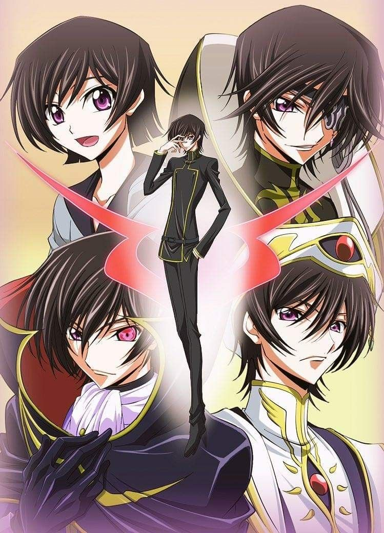 Pin by Seunghyo Park on Anime Code geass, Lelouch