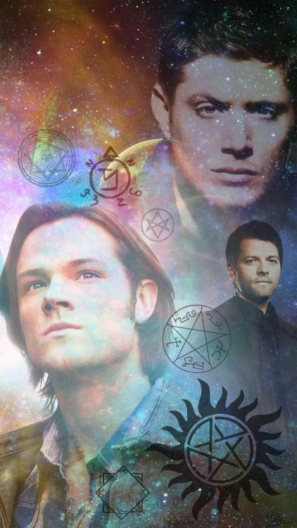 supernatural wallpaper phone - Google Search