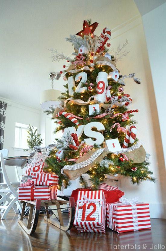 30 Inspiring Christmas Tree Ideas Christmas Tree Themes Tree Decorations Magical Christmas