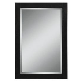 Picture Collection Website Style Selections in H x in W Foley Espresso Rectangular Bathroom Mirror
