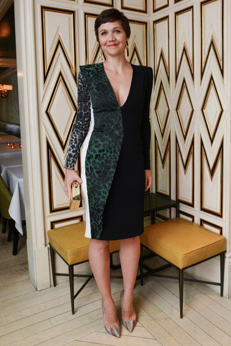 Roland Mouret leopard print dress