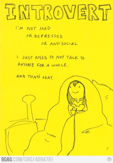 Because being alone is okay sometimes