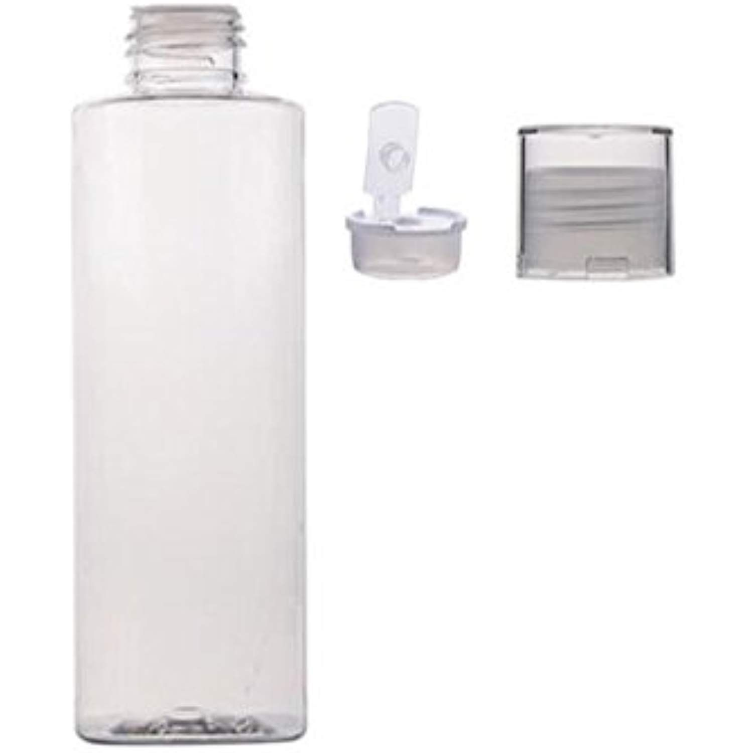 4c20783bc5fe 3PCS 150ml/5oz Empty Clear Refillable Plastic Toner Lotion Bottle ...
