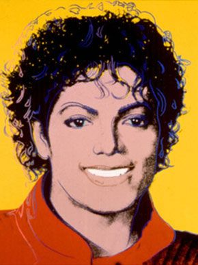 Pop Art Michael Jackson By Andy Warhol