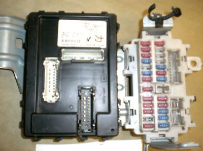 infinity g35 fuse box please check thepart number it is complete infinity g35 fuse box please check thepart number it is complete