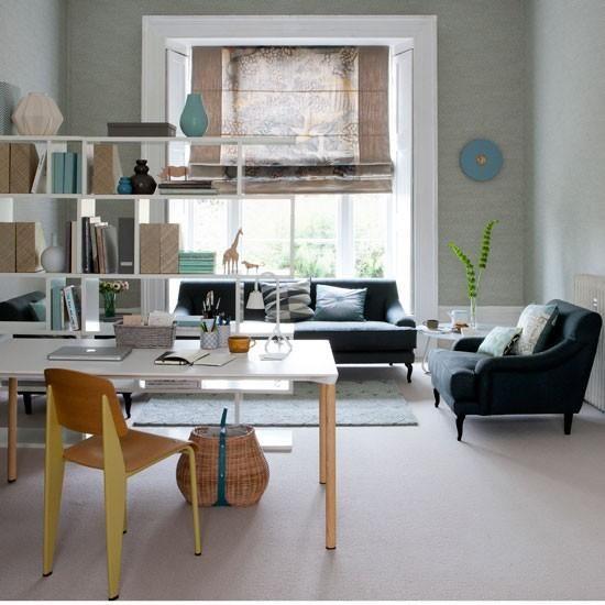 Trabajar en el salón. | Decorar tu casa es facilisimo.com
