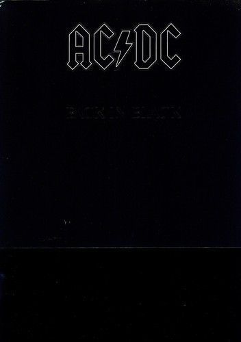 Ac Dc Back In Black Vinyl New Vinyl Black Back Cool Album