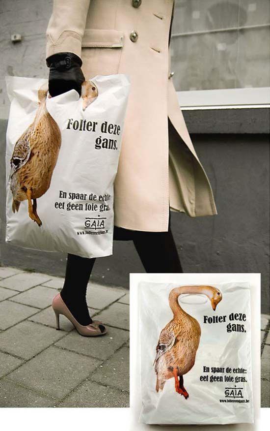 poetrycafe Creative Shopping Bag Designs gaia-plastic_bag