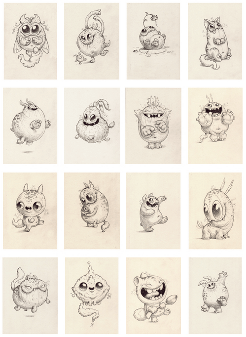 Chris Ryniak Png 499 682 Monster Drawing Cute Drawings