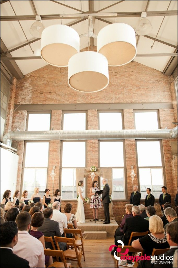 Nicole And Dyer Are Married Maypole Studios Wedding Photographer Chicago Loft Wedding Kc Events