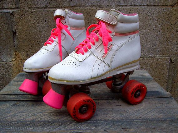 Pin By Katie Willis On Stuff From When I Was A Kid Roller Skates White Roller Skates Reebok
