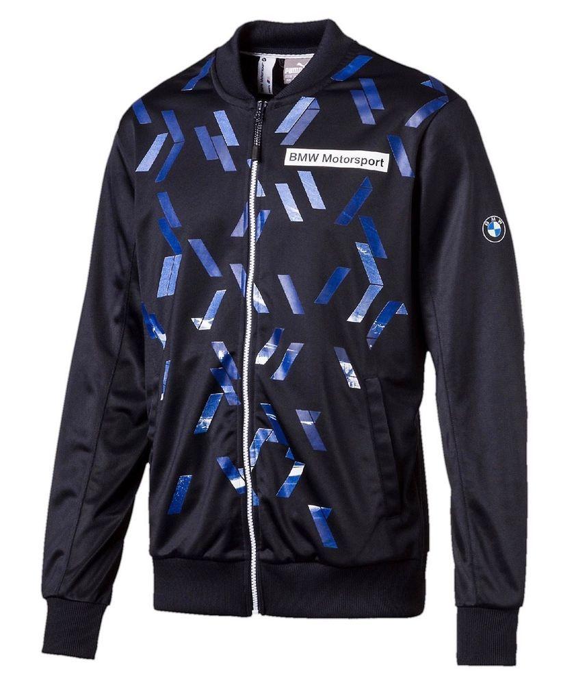 c23957af2b943 *NWT* Puma BMW Motorsport Men's Classic Track Jacket SIZES S,M,L,XL.XXL  MSRP $85 #PUMA #TrackJacket