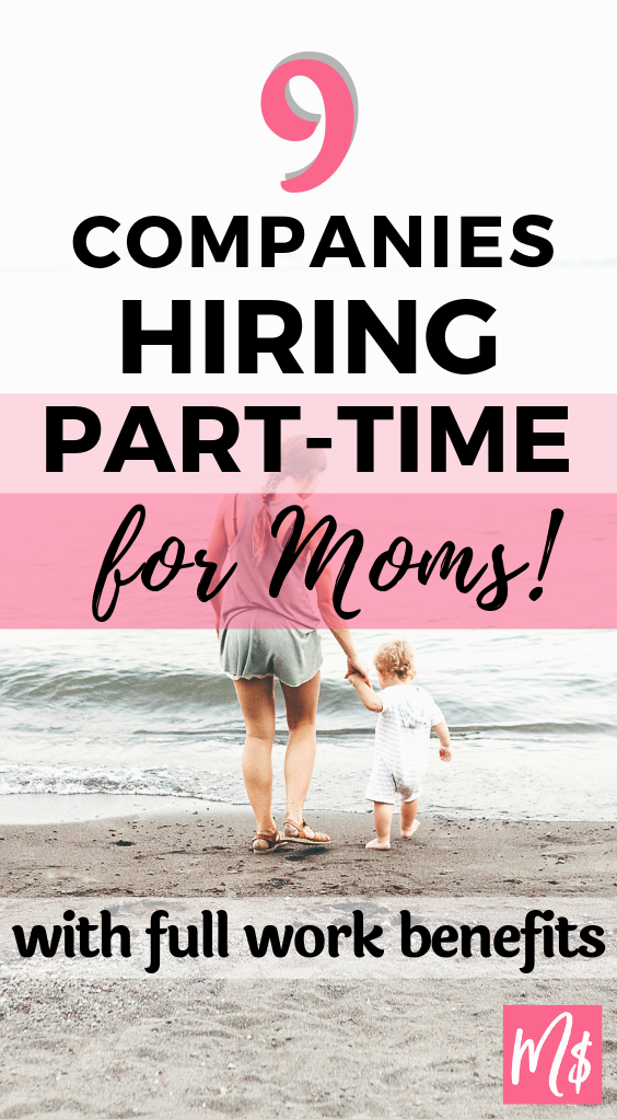 9 Part Time Jobs With Health Benefits For Stay At Home Moms