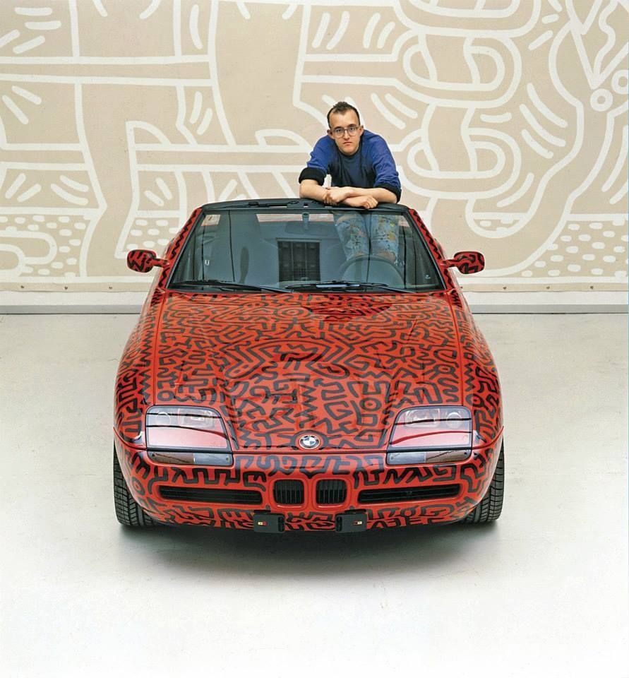 Keith Haring art car BMW m1