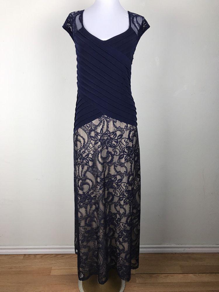 9a11fd66da Candalite Women s Maxi Dress Plus Size 3X Blue Beige Paisley Crochet Lace  Floral  NAVY  MaxiDress  PartyCocktail
