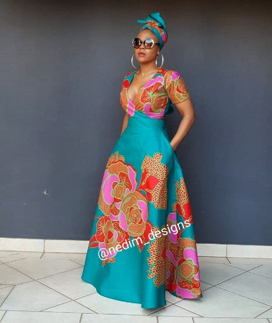 african print dresses 50+ best outfits - cute dresses outfits #africanprintdresses