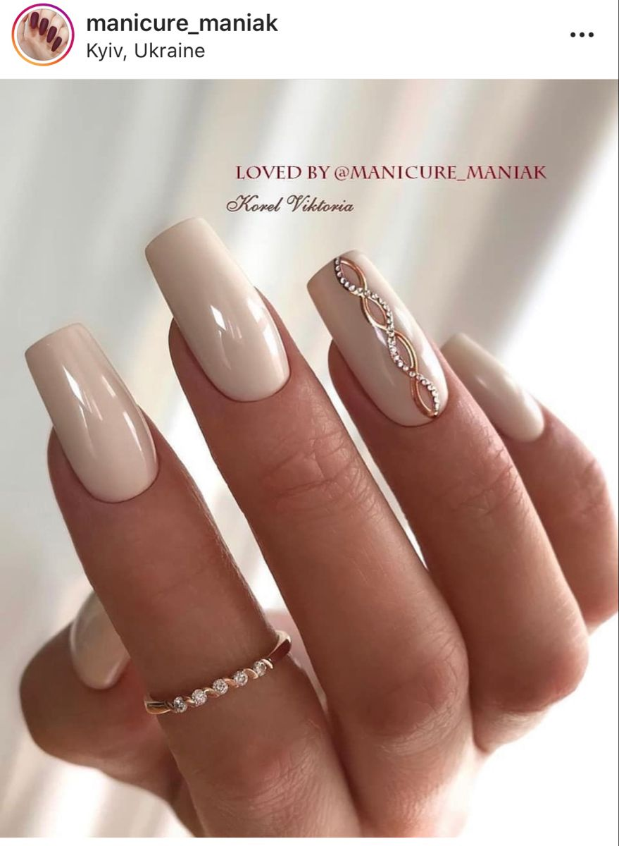picture Elegant Neutral Nail Designs pretty nail art designs