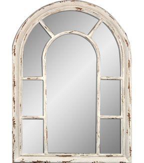 Hudson 43 Arched Mirror Distressed Cream Arch Mirror Mirror Decor Mirror