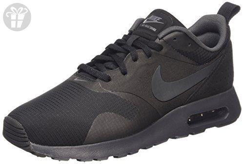 nike air max tavas mens nero / antracite / black scarpa da corsa 11 uomini