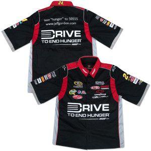 Jeff Gordon  24 DTEH Pit Crew Shirt  63.99  d5d21c953e6