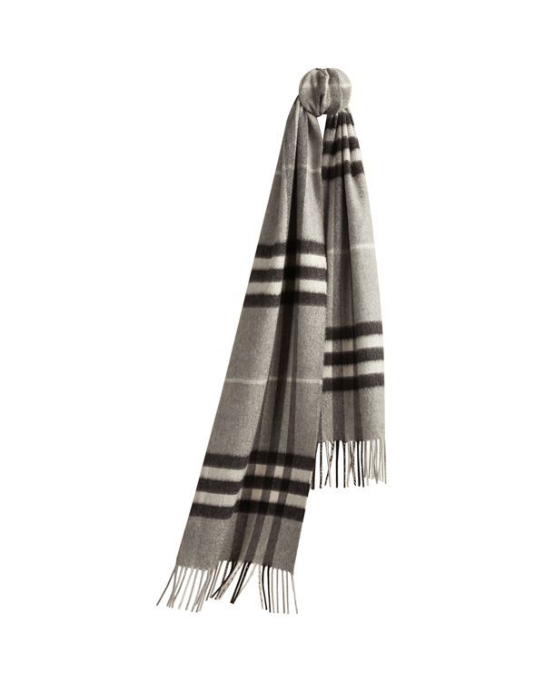 Burberry Kids Exploded Check Cashmere Scarf Kids
