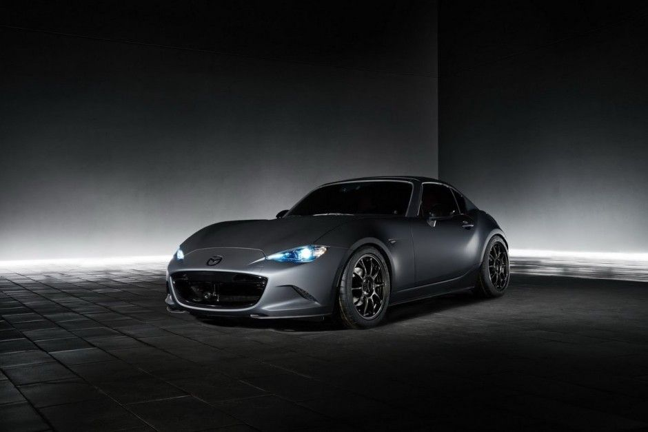 Sema Show 2016 : Mazda MX-5 Speedster Evolution et MX-5 RF Kuro ...