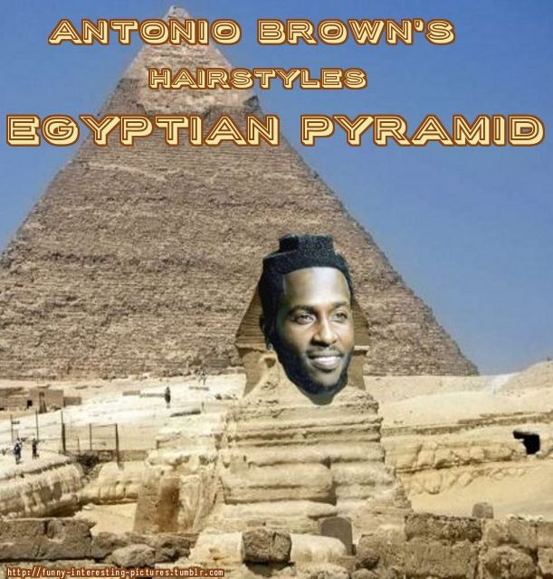Funny Interesting Pictures Memes Antonio Brown S Hair Egyptian