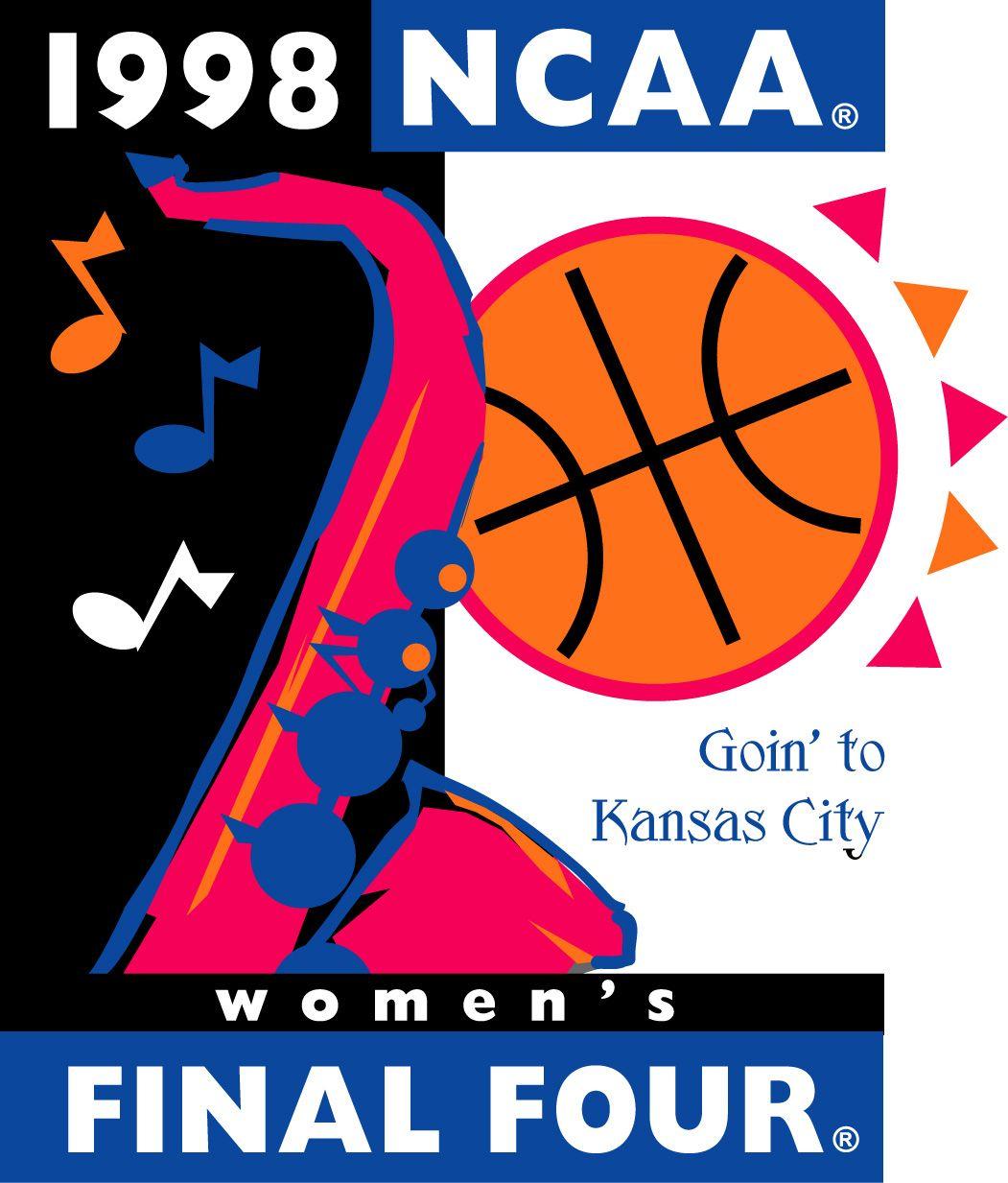 1998 NCAA Women's Basketball logo Final four, Ncaa