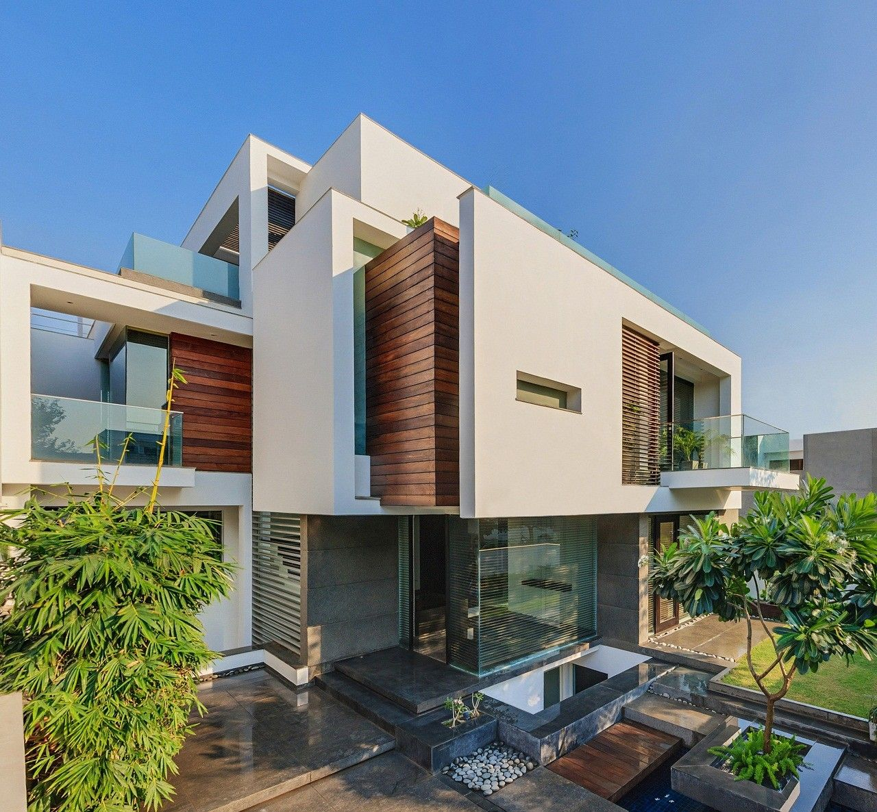 architecture design built by dada partners in new delhi india the brief required a house for - Architecture Design For Home In Delhi