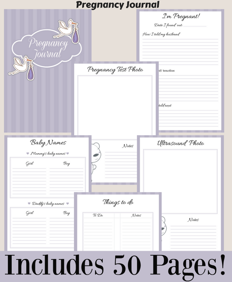 picture relating to Printable Pregnancy Journal known as Pin upon Boy or girl
