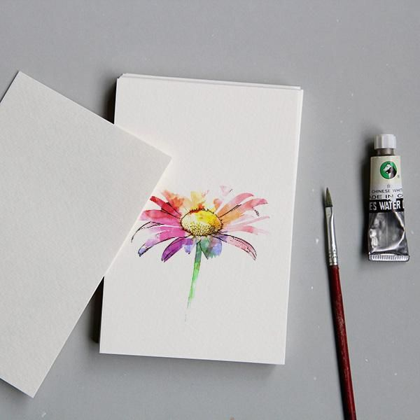 Watercolour Paper Postcards 16 Units The White Pad Postcard