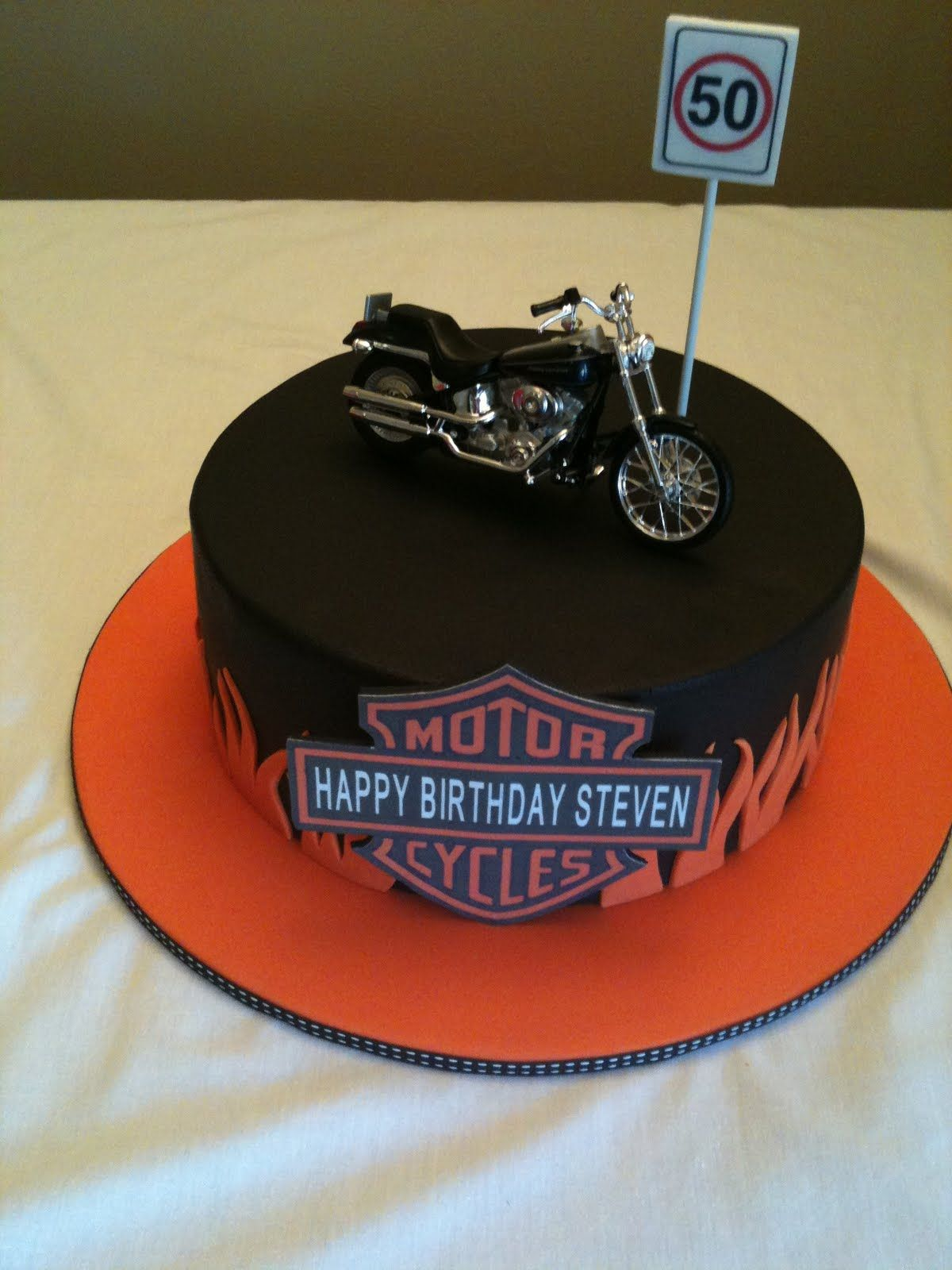 Harley Davidson Cake Candlewick Cakes Tinkerbell Fairy