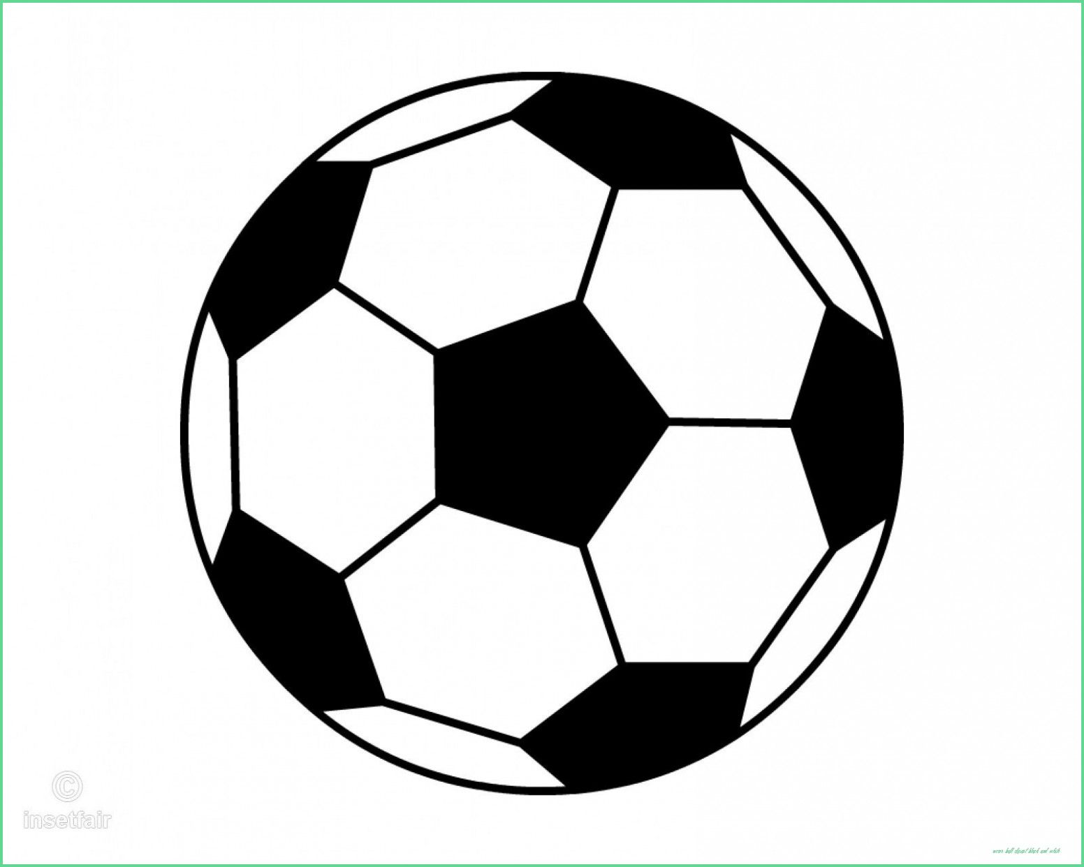 Pin By Ahmed Abimbola On Floral Watercolor Soccer Ball Clipart Black And White Black And White Football