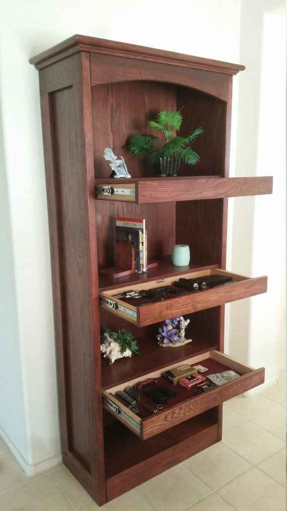 Superbe Bookshelf With Secret Compartments By TopSecretFurniture On Etsy