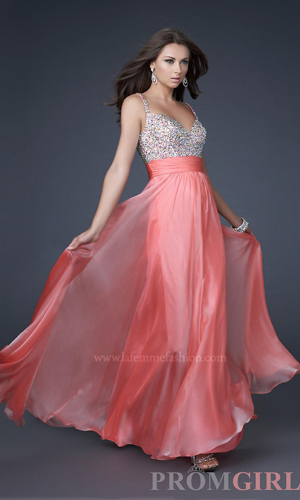 Promgirl Gorgeous La Femme Prom Dress Style: LF-16802 | http://www ...