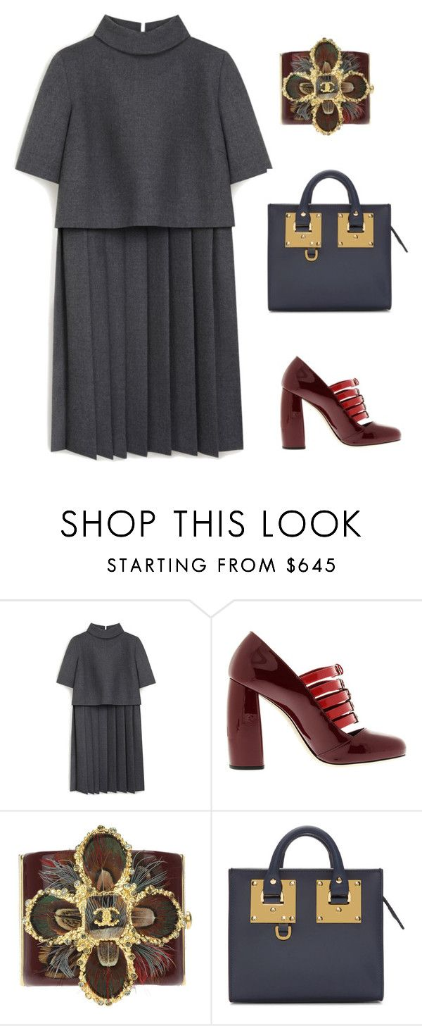 Untitled #1098 by christawallace on Polyvore featuring Mulberry, Miu Miu, Sophie Hulme and Chanel