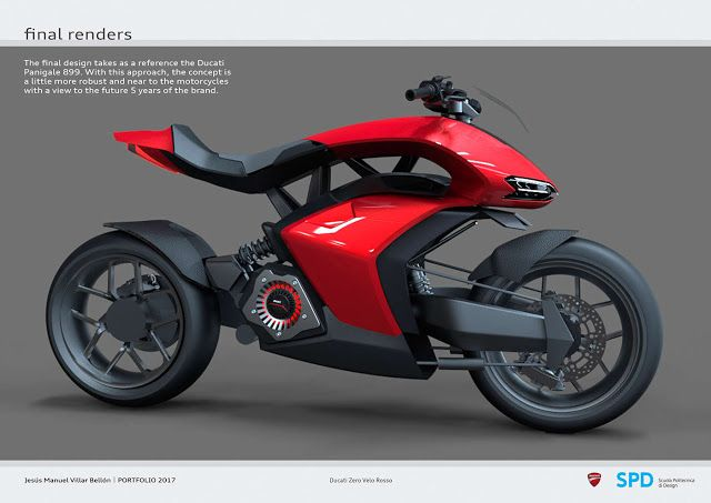 Ducati Zero Velo Rosso Move Ten Manual Shift Electric