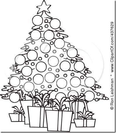 Clip Art Black And White Christmas Clip Art Black And White Animal Pictures Christmas Tree Images Whimsical Christmas Trees White Christmas Tree