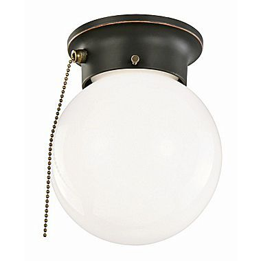 Ceiling Light Fixtures With Pull Chain Alluring Design House 1 Light Flush Mount With Pull Chain  Lighting Review