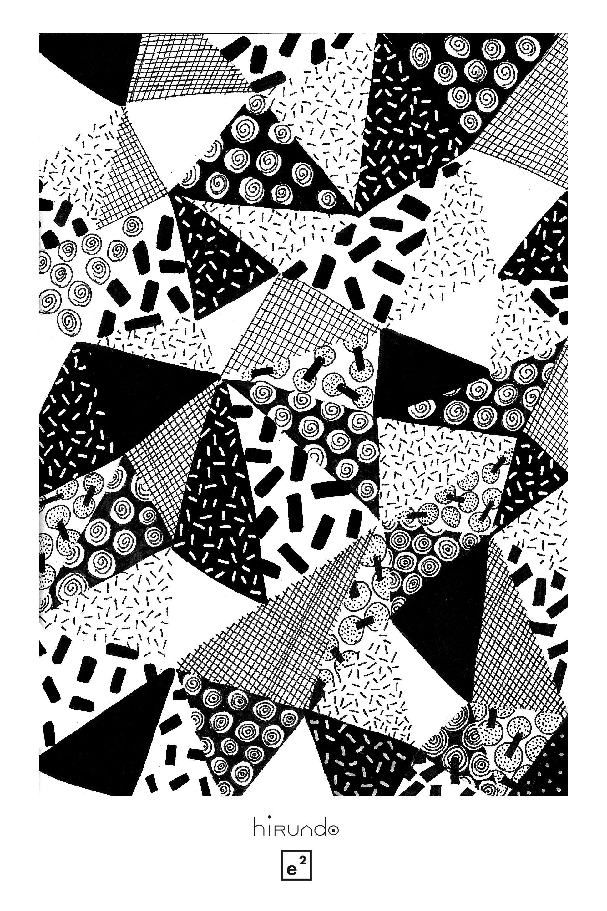 black white geometric pattern motif g om trique noir. Black Bedroom Furniture Sets. Home Design Ideas