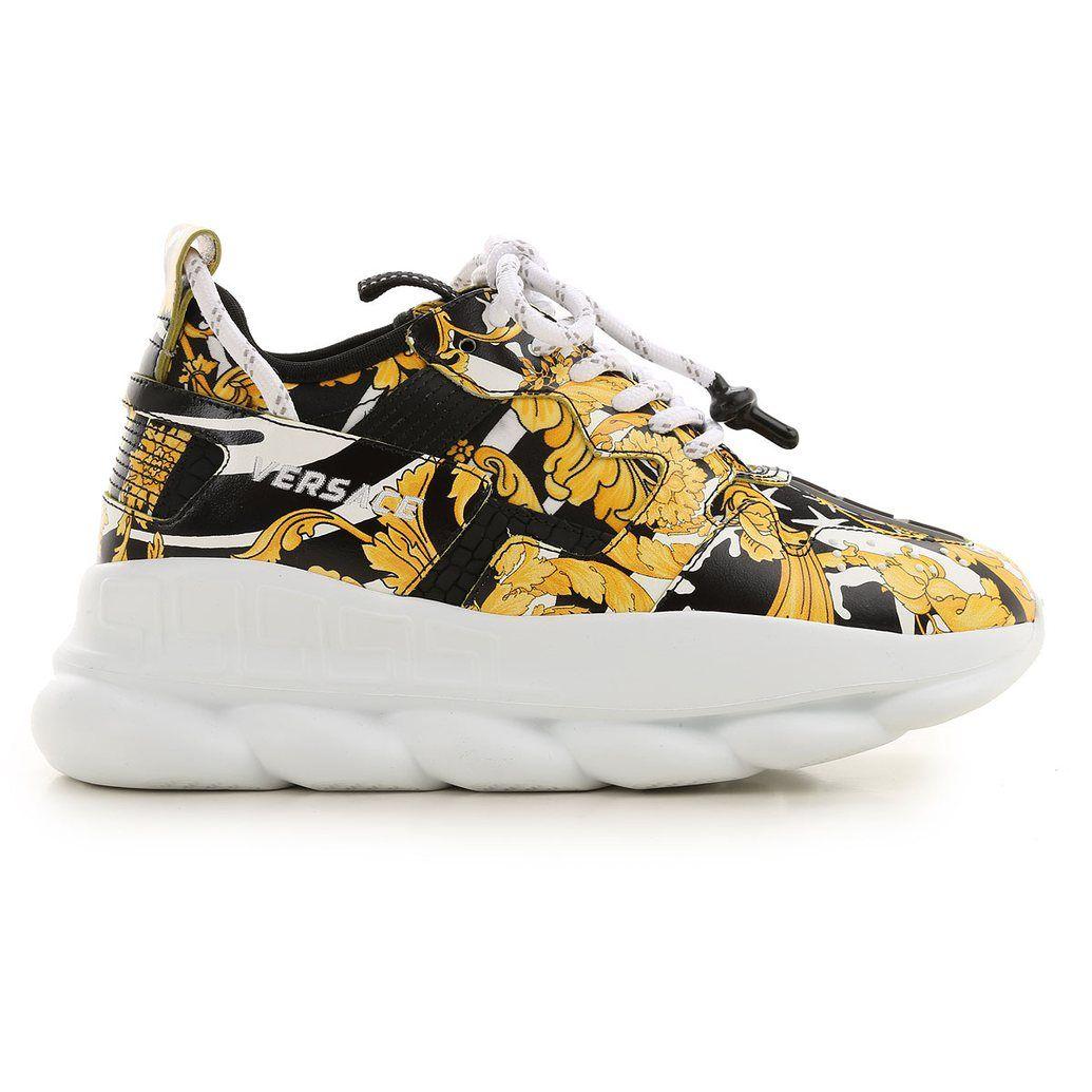 Versace shoes, Womens sneakers, Women shoes