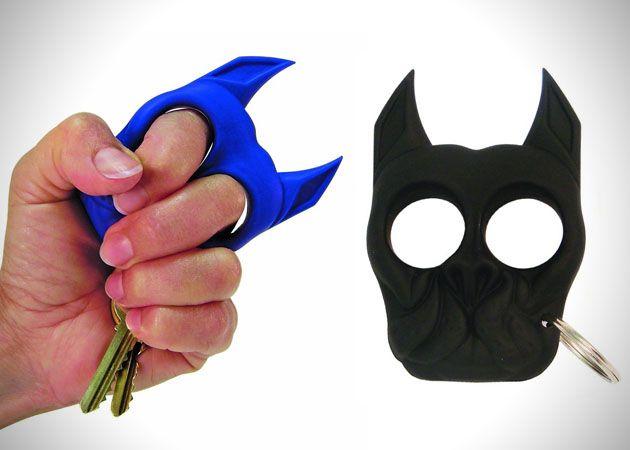 Brutus The Bull Dog Self Defense Keychain Self Defense Keychain Self Defense Self Defense Tools