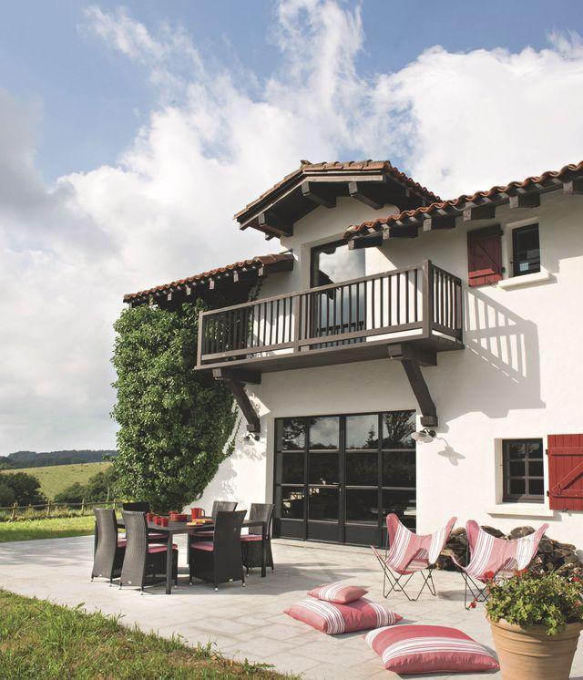 maison de famille au pays basque une ancienne ferme rnove avec brio - Mauvaise Odeur Maison Ancienne